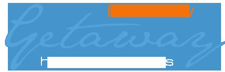 logo for rainbow getaway image