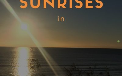 Where you can see the best sunrises in Rainbow Beach