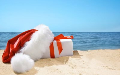 Christmas at the beach – what could be better?