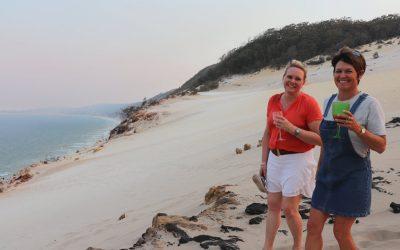 10 reasons to visit Rainbow Beach this summer