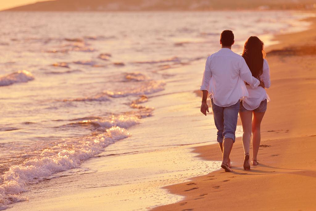 Walk along the Beach