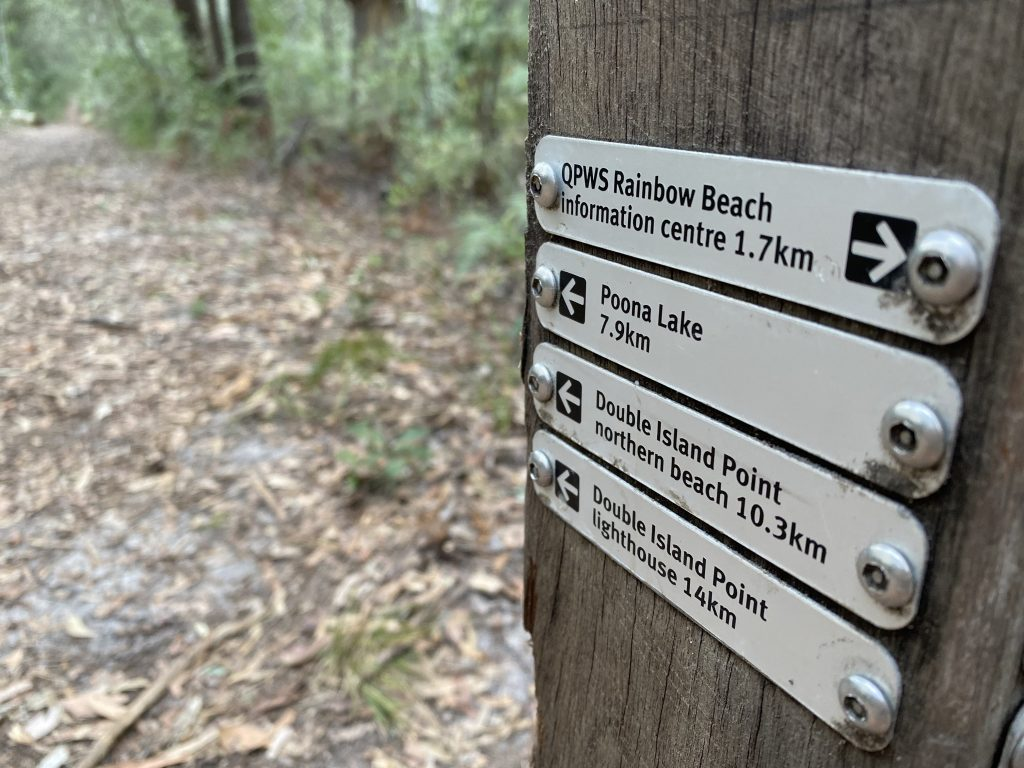 Rainbow Beach a Magnet for WAlkers